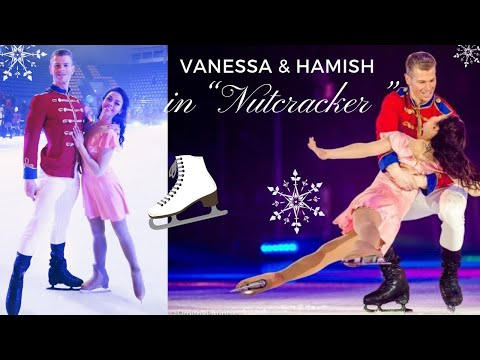 "VANESSA'S DIARIES || VANESSA & HAMISH STARRING IN ""NUTCRACKER"" Kyiv/UKRAINE 2018 || FIGURE SKATING"