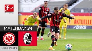 Eintracht Frankfurt - SC Freiburg | 3-1 | Highlights | Matchday 34 – Bundesliga 2020/21