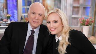 Meghan McCain Pays Touching Tribute to Father John McCain