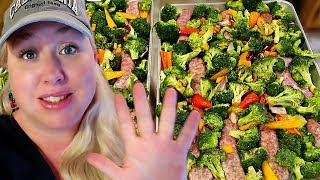 🥦5 SHEET PAN DINNERS | Healthy Recipes with TONS of Veggies, too!!!