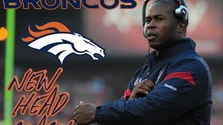 Denver Broncos Hire Ex-Dolphins D-Coordinator Vance Joseph As Their New Head Coach
