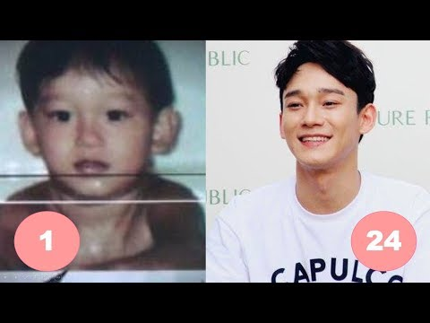 Chen EXO Childhood | From 1 To 24 Years Old