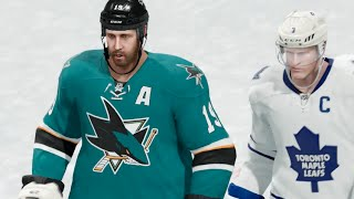 NHL 16 (Xbox One) San Jose Sharks vs Toronto Maple Leafs Gameplay (Full Game)