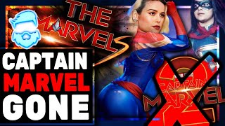 Captain Marvel REMOVED! Major Demotion For Brie Larson! Phase 4 REMOVES Captain Marvel Title!