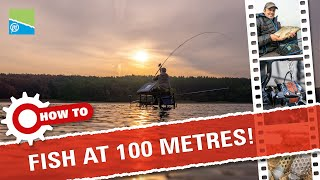 A thumbnail for the match fishing video How To Feeder Fish At 100 Metres!
