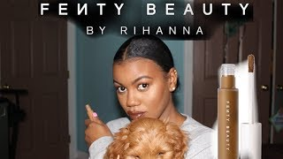 NEW FENTY BEAUTY PRO FILTER CONCEALER REVIEW!!/ IS IT WORTH YOUR COINS OR NAA?