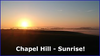 Chapel Hill By Morning -  Relaxing Sunrise - Drone Footage  (12-5-19)