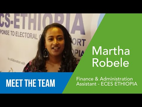 Martha Robele - Assistante Finance et Administration - ECES Ethiopie