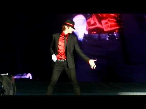 [CLOSE FANCAM]110528 Eunhyuk solo michael jackson remix!!❤
