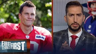Nick Wright reacts to Tom Brady's contract voiding after 2020 season | NFL | FIRST THINGS FIRST