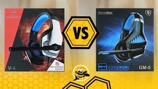 Hunterspider V-4 vs Beexcellent GM-5 Gaming Headset