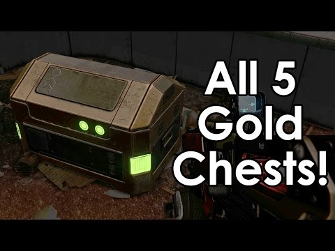 Destiny: All 5 Golden Chest Locations on Mars (in Meridian Bay)