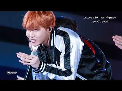161001 DMC special stage SORRY SORRY (Jhope focus)
