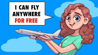 I Was Born On A Plane So I Can Fly Anywhere For Free