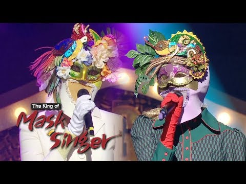 2NE1 - Slowㅣ투애니원 - 아파 Cover [The King of Mask Singer Ep 169]