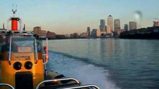 The ultimate rib experience: on the thames