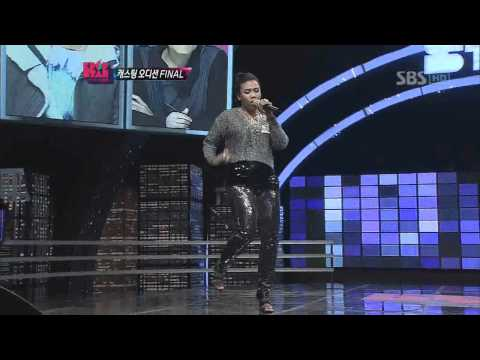 KPOPSTAR ep10.Lee Michelle-Work it out