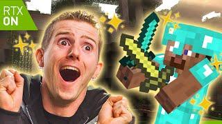 Minecraft RTX... It's GLORIOUS...