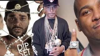 Jim Jones and Juelz Santana SHOWING MILLIONS IN JEWELRY, Camron Has 10 Million Jewelry | FLASHBACK