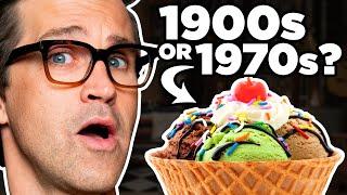 100 Years Of Ice Cream Taste Test