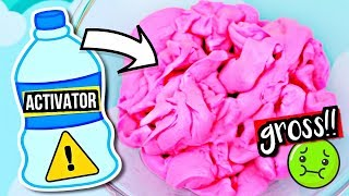ADDING TOO MUCH INGREDIENTS TO SLIME! What Happens When You Over Activate Slime!