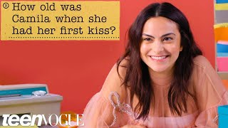 Camila Mendes Guesses How 543 Fans Responded to a Survey About Her   Teen Vogue