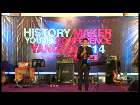 PastorThang Tawng @ History Maker and Youth Confrence 2014