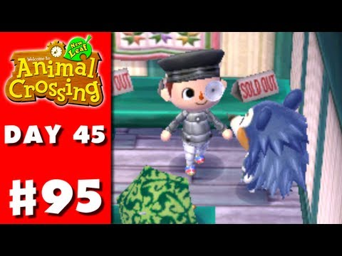 Animal Crossing: New Leaf - Part 95 - Lots Of Clothes (Nintendo 3DS Gameplay Walkthrough Day 45) - Smashpipe Games