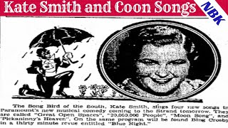 This Week in Blackface: Kate Smith and Coon Songs