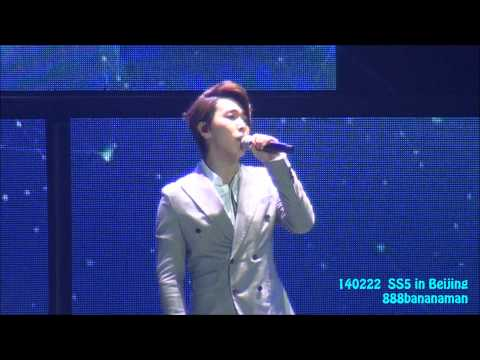 [fancam] 140222 Super Junior SS5 in Beijing  『My All Is In You(吹一樣的風) 』 Focus Sungmin