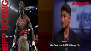 Mikey Garcia Wants another champion @147!!! Terence Crawford?