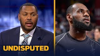 Eddie House on the Los Angeles Lakers heavily favored to land LeBron James | NBA | UNDISPUTED