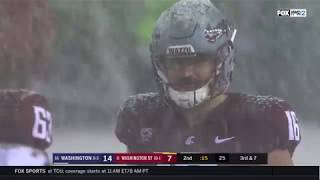 2018 - Washington State Cougars vs. Washington Huskies (in 40 mins)