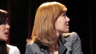 [HD] SNSD Taeyeon Cries at First U.S Fan Meeting