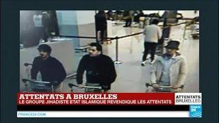 المشتبه بهم في تفجير بلجيكا