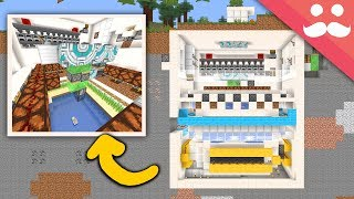 Making the ULTIMATE SURVIVAL BUNKER in Minecraft!