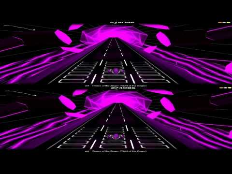 YT3D : Audiosurf - Donkey Kong Country 2 OCREMIX - 3D.HD720 (iZ3D driver)