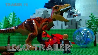 Jurassic World 2: Fallen Kingdom Trailer #1 In LEGO