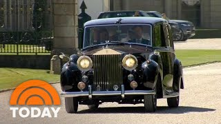 Meghan Markle Departs Cliveden House On Way To Royal Wedding | TODAY