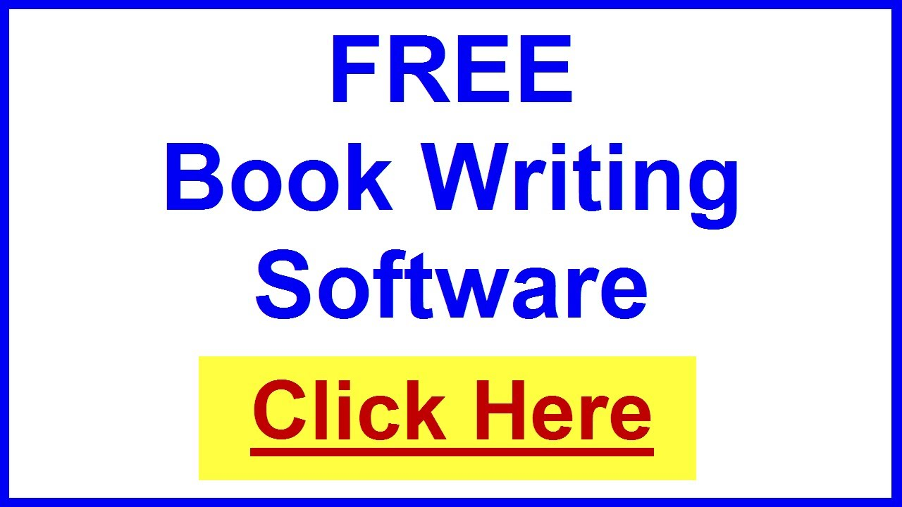 Writing a book software for mac
