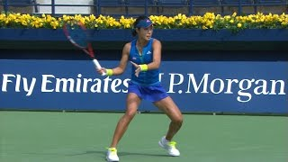 Highlights: WTA R3 - Wang d. Mladenovic