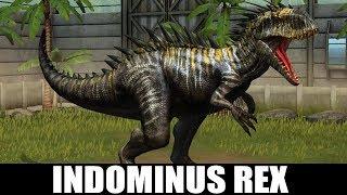 INDOMINUS REX GEN 2 MAX LEVEL 40 - Jurassic World The Game