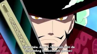 One Piece - Mihawk vs Jimbei [Full Fight] [HD 720p]