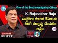 Korutla Circle Inspector K Rajasekhar Raju Excluisve Interview | Crime Diaries With Muralidhar #223