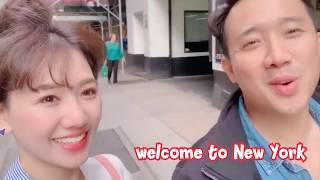 Hari Won - Trấn Thành Troll nhau khi lưu diễn New York