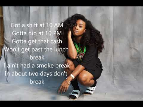 Broken Clocks Lyrics - SZA