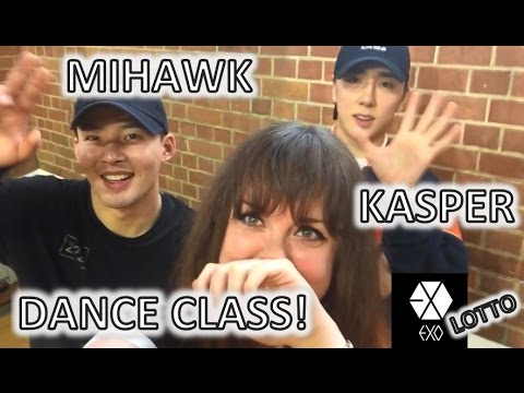 KASPER x MIHAWK  London Dance Class + Q&A【EXO (엑소) - Lotto】