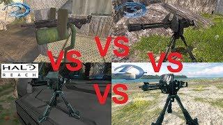 Which Halo Game Has The Best Machine Gun Turret?
