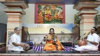 Carnatic Violin Recital By Kalasri Dr M Narmadha