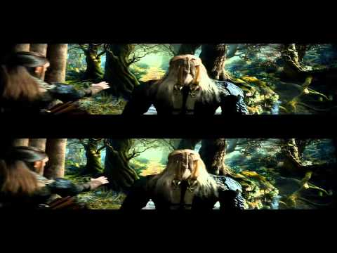 The Hobbit The Desolation Of Smaug Trailer in 3d